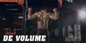 Treino de volume mes 1