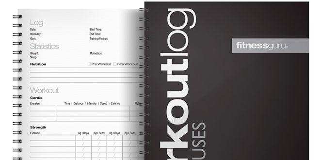 Documenta o teu progresso: Cria um diário de treino