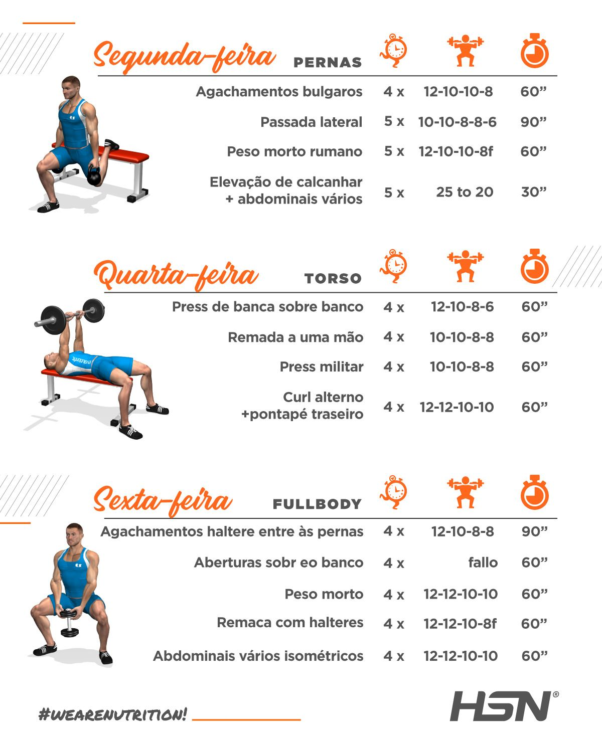 Info treino em casa mes 2 e 3