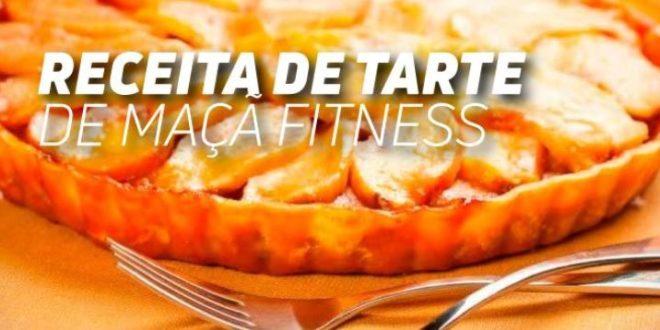 Receita de Tarte de Maçã Fitness