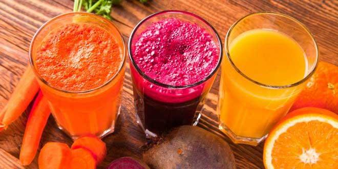 Sumos naturais para reduzir o colesterol