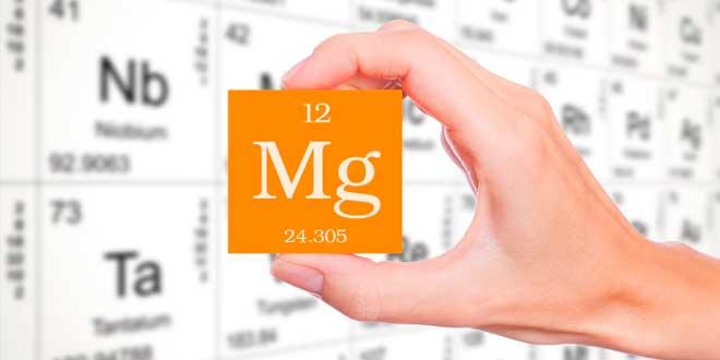 Magnésio e os seus sais conforme biodisponibilidade