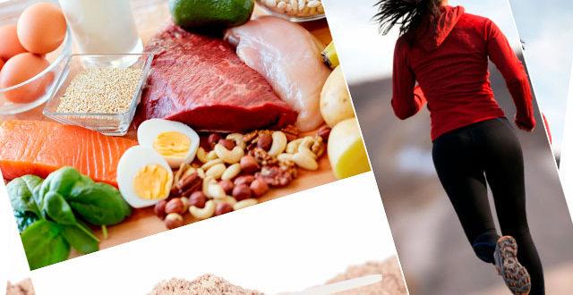 Proteínas para corredores