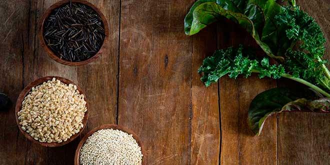 Fontes de Alimentos da Dieta Vegan