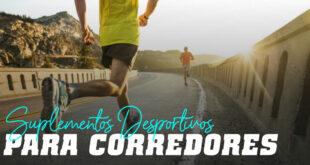 Suplementos desportivos para corredores