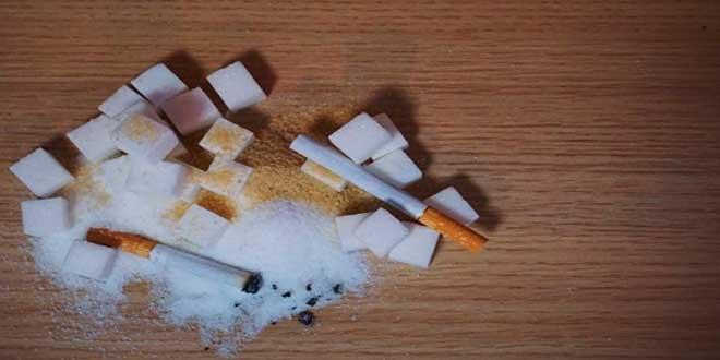 açucar e tabaco perigos
