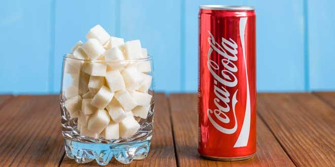 coca cola açúcar