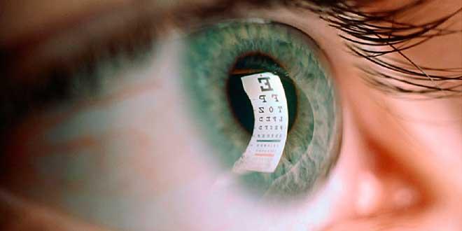 degeneração ocular