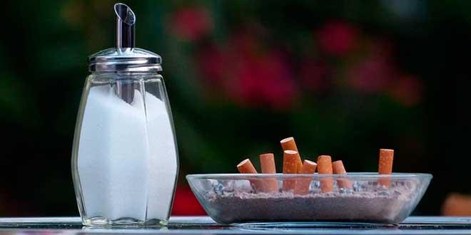 O tabaco e o açúcar