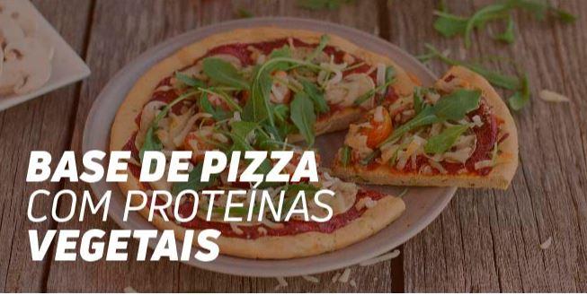 Base de Pizza com Proteínas Vegetais Fitness