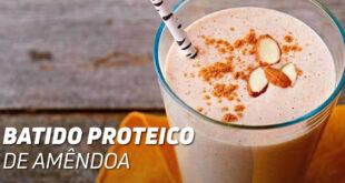 Batido Proteico de Amêndoa