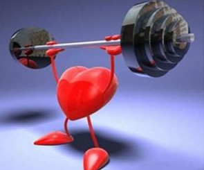 coração treinado e sedentário