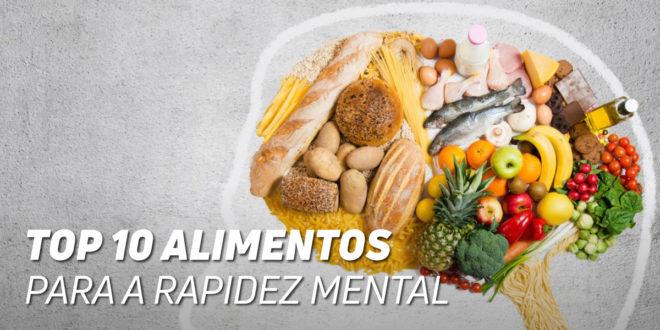 10 Melhores Alimentos para Rapidez Mental e Manter a Forma