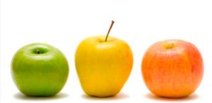acido malico frutas