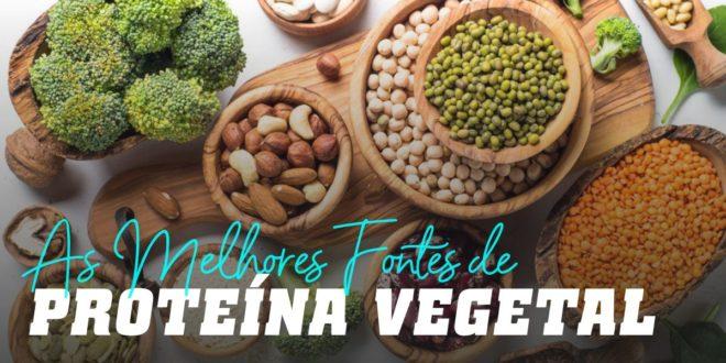 Proteínas Vegetais – Conhece as melhores fontes de proteína vegetal como alternativa