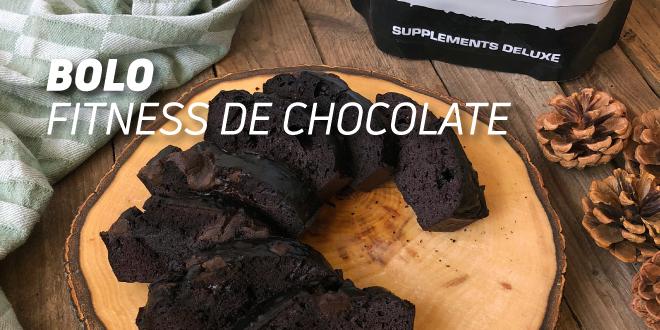 Bolo Fitness de Chocolate
