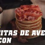 Panquecas de Aveia com Bacon
