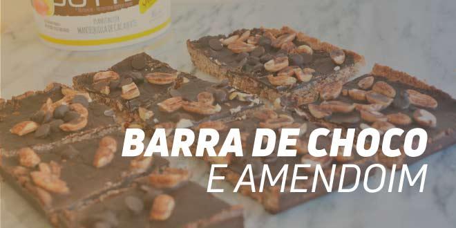 Barras Energéticas de Choco e Amendoim