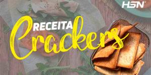 crackers saudáveis