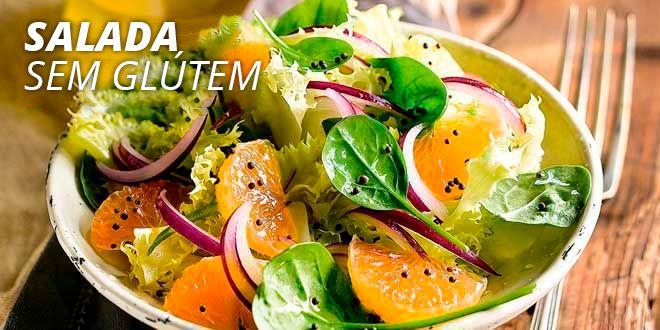 Salada Sem Glúten