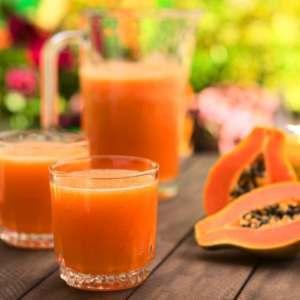 como tomar papaia