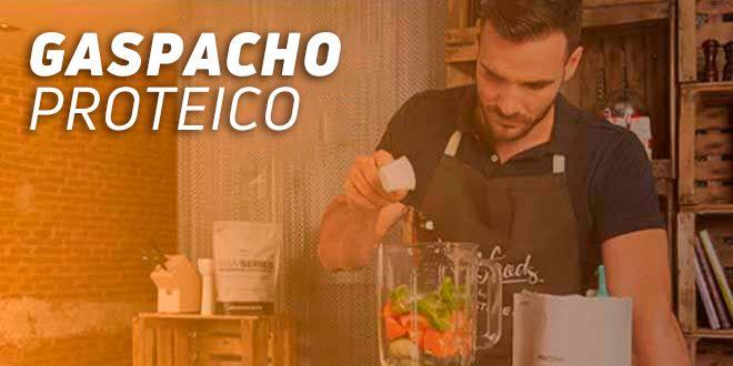 Gaspacho Proteico por Saúl Craviotto