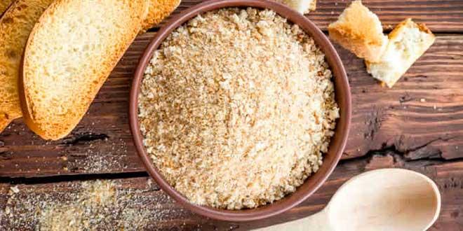 migalhas pão gluten