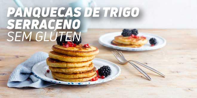 Panquecas de Trigo SarracenoSem Glúten