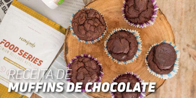 Muffins de Chocolate – Madalenas para o teu Pequeno-almoço!