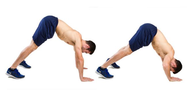 flexões ombros