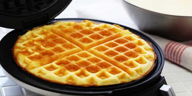 Receitas de Waffles Fitness