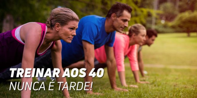 Treinar aos 40