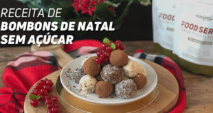 Receita de Bombons de Natal Sem Açúcarcar