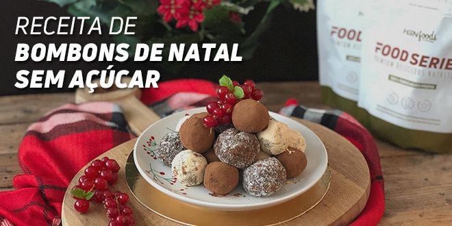 Receitas de Bombons de Natal sem Açúcar