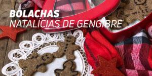 bolachas natalícia de gengibre