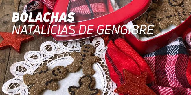 Bolachas Natalícias de Gengibre