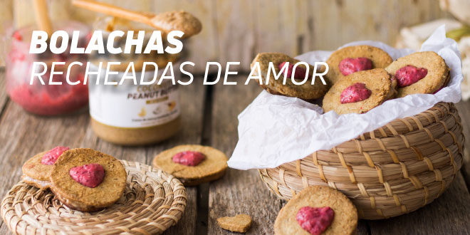 Bolachas Recheadas de Amor