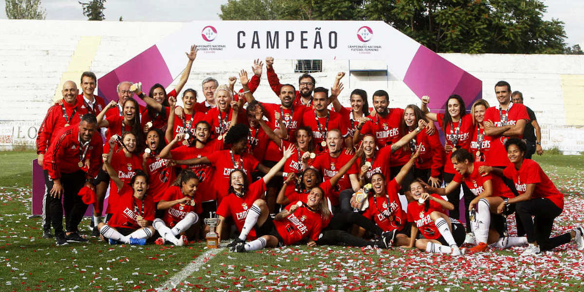 Campeas futebol feminino PT