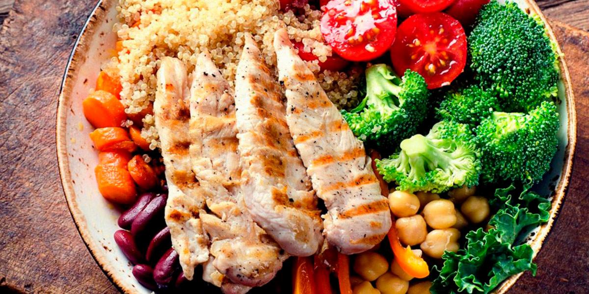 proteina refeição