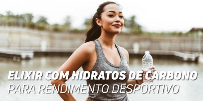 Elixir com Hidratos de Carbono Para Rendimento Desportivo