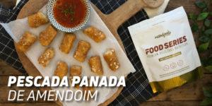 pescada panada amendoim