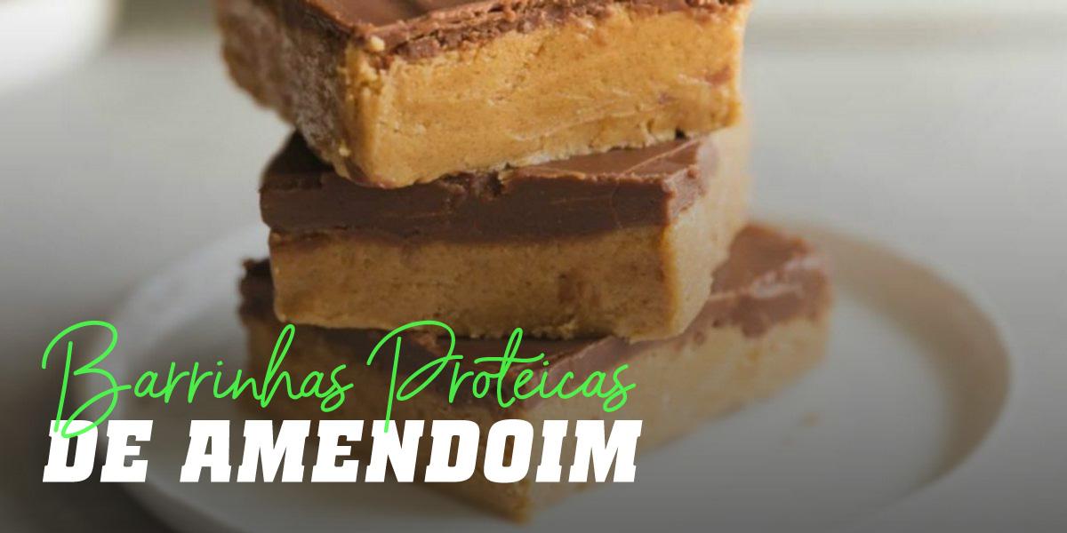 Barras Proteicas de Amendoim