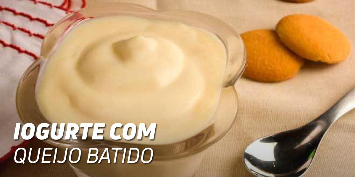 Mix de Iogurte com Queijo Fresco Batido