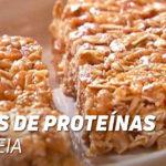 barras proteínas aveia
