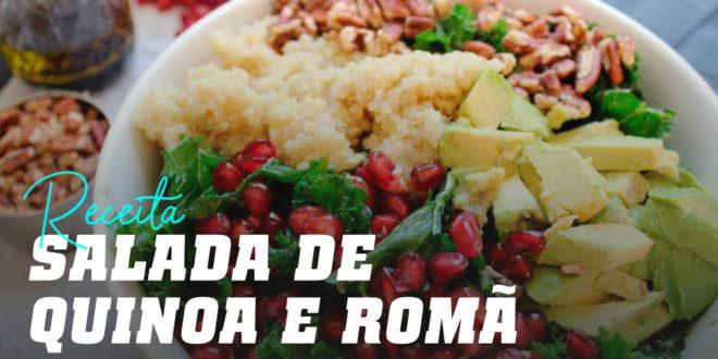 Salada de Quinoa e Romã