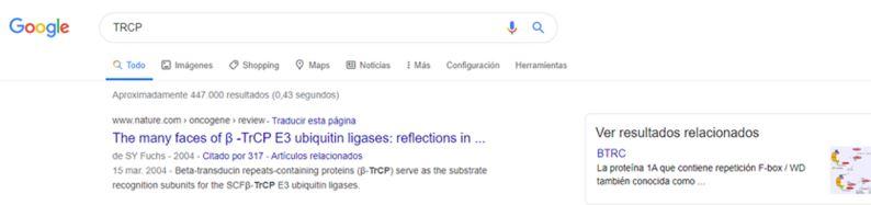 tradução TRCP