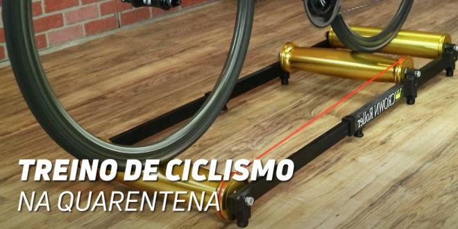 Como treina um Ciclista em casa durante a Quarentena?