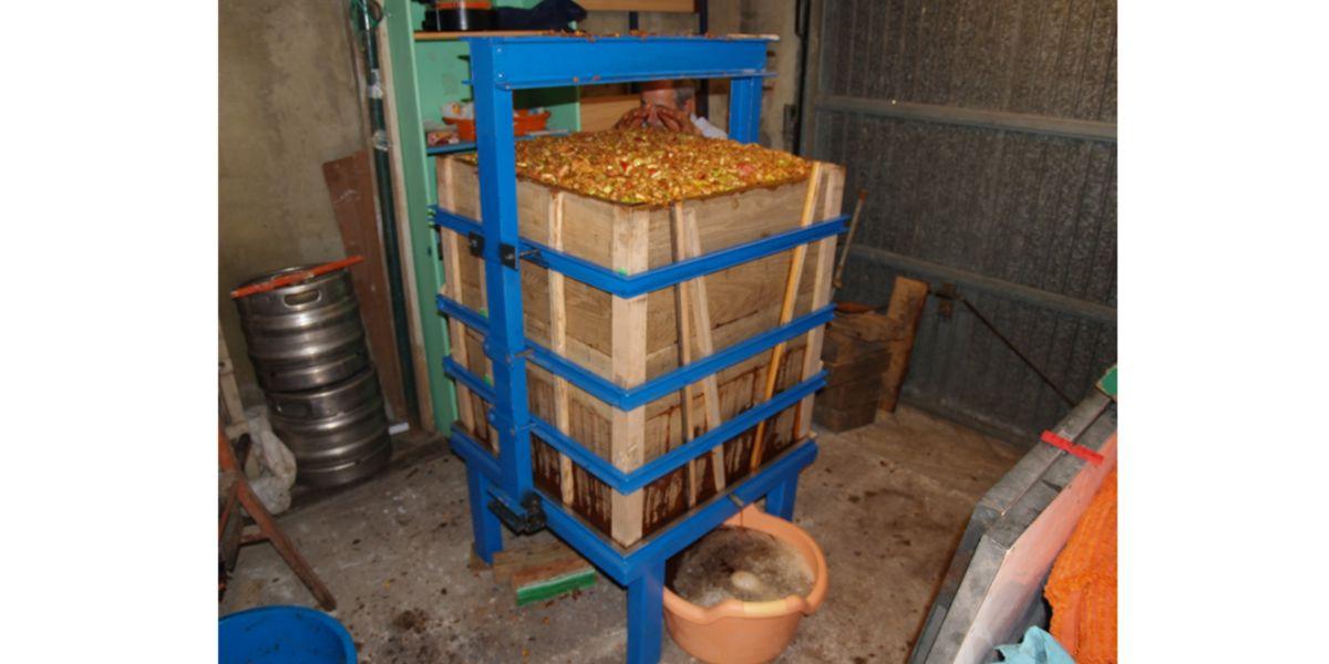 Prensa de maçã
