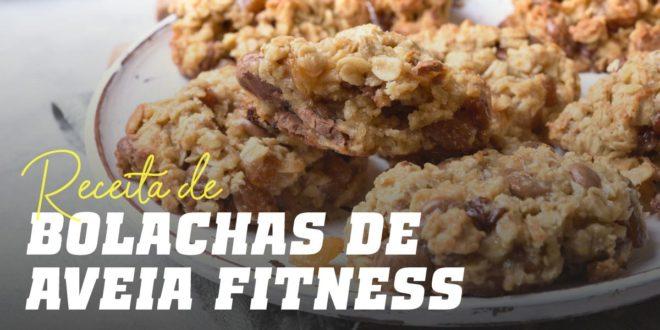 Receita de Bolacha de Aveia Fitness