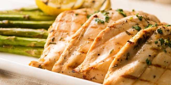 Receita de frango com limao